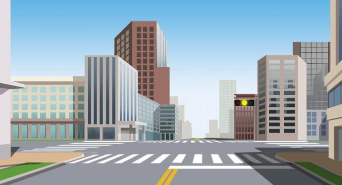 前方路口这种信号灯亮表示什么意思?()