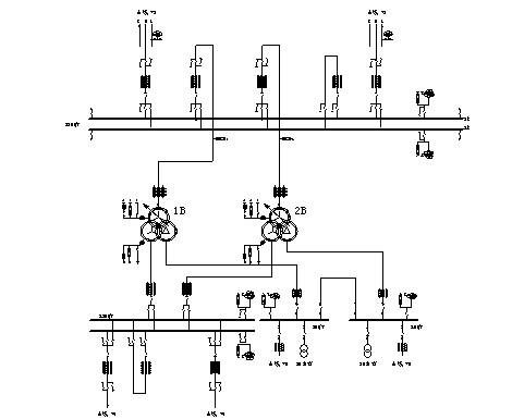 电气主接线如下图所示