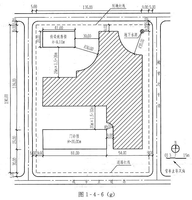 场地设计(作图题)-场地分析(二)