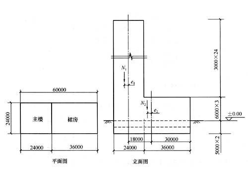若承受内力设计值n=450kn( ),m=180kn·m,则对称配筋时下列()项配筋最