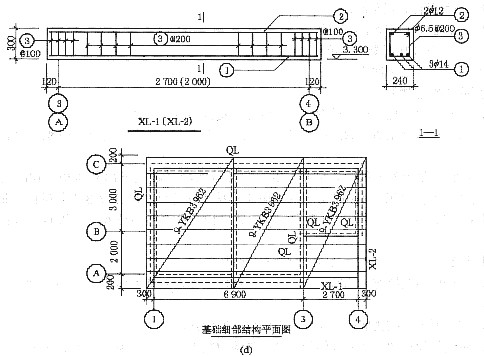 某接待室工程施工图及施工图设计说明如图3-4所示.