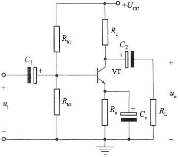 当输入电压为正弦信号时,若pnp管共发射极放大电路发生饱和失真,则